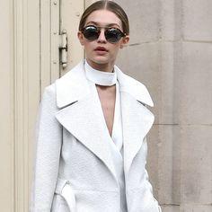 Gigi Hadid Makes Distressed Denim Look Elegant