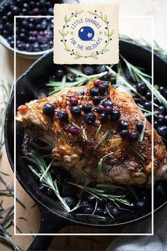 Blueberries are a little change that can brighten the season with delicious twists on traditional holiday recipes. Enter our #LittleChanges sweepstakes for a chance to win a $500 gift card to make your holiday dinner dreams a reality.