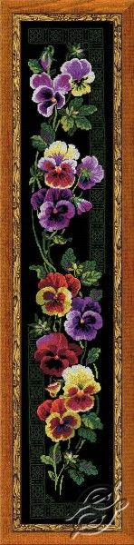 Climber From Pansy - Cross Stitch Kits by RIOLIS - 100/011