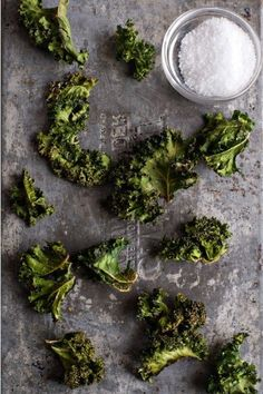 KALE CHIPS: Crispy & addictive! - Food Fanatic #healthy #snack #appetizer