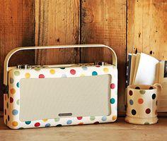Emma Bridgewater-designed View Quest Hepburn DAB/FM radios