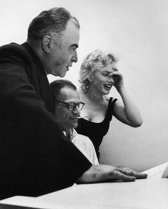 22 août 1958 - Marilyn on Line : Photographes