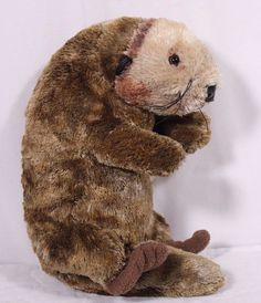 "Monterey Bay Aquarium Plush SEA OTTER Stuffed Animal Toy Appx 18"" Valentine #CuddleFactory"