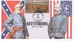 2nd One, First Day Covers, Gettysburg, One Day, Battle, War