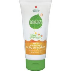 Seventh Genaration Baby Sunscreen Spf #30 - 3 Oz, Pack of 2 by Seventh Genaration. $32.36. The product is not eligible for priority shipping