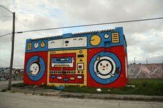 Bildergebnis für ghettoblaster graffiti