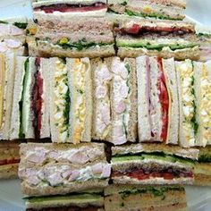 Tasty Ribbon Sandwiches are a perfect treat for your event or corporate lunch. Contact Devour It Catering Melbourne for a customised menu and a quote today!