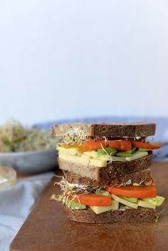 Autumn California Sandwich — nourishing matters