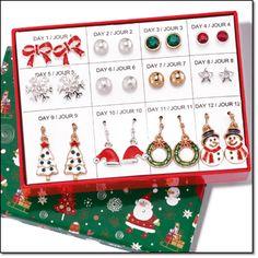 Image result for avon 12 days of christmas earring set