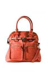 Lock and Key Bag in Light Pink $54 @ Francesca's