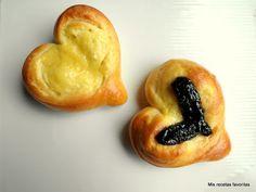 Mis recetas favoritas: Corazones de pan