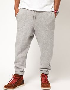 Supremebeing Track Pants Drop Crotch