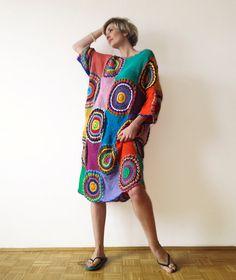 Women's Dress Crochet Light Silky Yarn by subrosa123 on Etsy