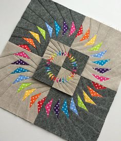 Circle of geese block tutorial: I like these going around & around ... : flying geese quilt block pattern - Adamdwight.com