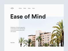 Landing Page Inspiration — May 2017 – Collect UI Design, UI / UX Inspiration Blog – Medium