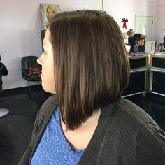 Exclusive, transformation, Bob, lob, long bob, brown hair, cut, hair, short hair, long hair, medium hair, Titusville, Florida  On Facebook at : Hair by Karissa at etc hair studio