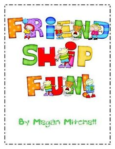 Friendship Activities. Help kids understand that they have things in common with others and are unique in others. Free little activity.