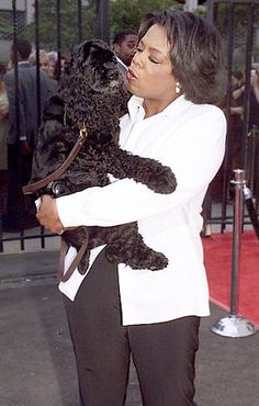 """Oprah: """"'Sophie gave me 13 years of unconditional love. She was a true love in my life.'""""  (April 2008)"""