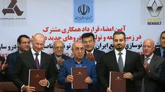 FOX NEWS: Iran signs its biggest-ever car deal with France's Renault Iran signed the country's biggest-ever car deal on Monday to build tens of thousands of cars annually under a joint venture with French automobile manufacturer Groupe Renault buoying its manufacturing industry in defiance of the Trump administration's moves to isolate the country.