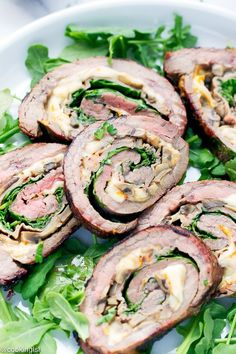 Grilled Stuffed Flank Steak And Tri Color Pasta Salad Recipe