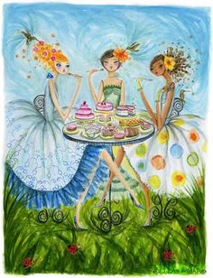 Garden Delights by Bella Pilar