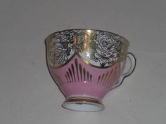 ROYAL STAFFORD PINK AND GOLD TEACUP ONLY # 6545