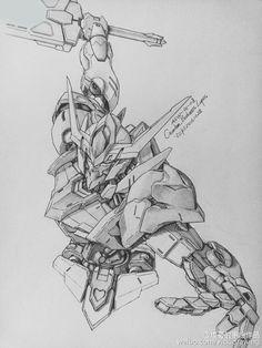 GUNDAM GUY: Awesome Gundam Sketches by VickiDrawing [Updated 2/9/17]