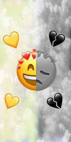 Latly how i feel Emoji Wallpaper Iphone, Glitch Wallpaper, Cute Emoji Wallpaper, Mood Wallpaper, Cute Disney Wallpaper, Cute Cartoon Wallpapers, Aesthetic Iphone Wallpaper, Galaxy Wallpaper, Broken Heart Wallpaper