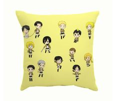 Attack on Titan Pillow Lovely Characters Anime Pillows For Kids
