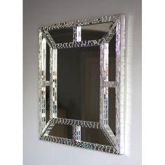 Claire Nayman Mosaics Ventana Square Mirror