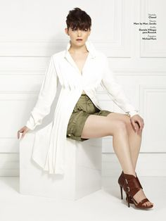 Ginnifer Goodwin... Glamour May 2011