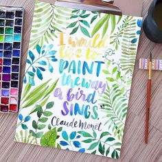 Done! Finally. Whew Never painted so many leaves in my entire life. #brushletteringph #watercolorph #watercolorflowers #watercolor