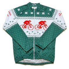 Xmas jumper cycling kit