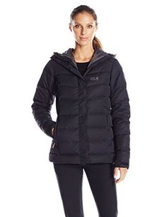 Jack Wolfskin Womens Terrenceville Ins Jacket Small Black >>> Click affiliate link Amazon.com on image for more details.