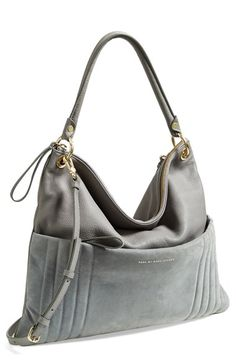 Gypsy Travel Totes & Bags| Serafini Amelia| MARC BY MARC JACOBS 'Tread Lightly' Hobo available at #Nordstrom