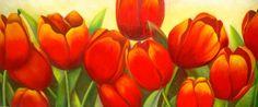 oleos tulipanes - Buscar con Google