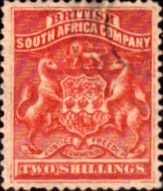 Rhodesia 1892 British South Africa Company SG 5 Good Mint Scott 10 Other Rhodesian Stamps HERE