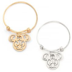 Mickey Filigree Expandable Ring by Alex and Ani