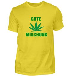 Gute Mischung Hanfblatt T-Shirt Mens Tops, Women, Fashion, Cotton, Moda, Women's, La Mode, Fasion, Fashion Models