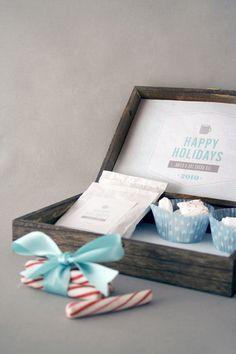 Giftable hot cocoa kit, a great Christmas gift idea!