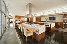 """make the kitchen a place you can hang out in, 'cause you're gonna do that anyway: """"Jones Residence"""" (Fayetteville, Arkansas) by 3GD inc."""