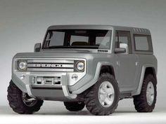 Should've Made It: 2004 Ford Bronco Concept - Popular Mechanic