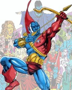 Yondu Udonta was a game hunter of the primitive Zatoan tribe, which were humanoid beings who were native to Centauri IV. First Appearance Marvel Super-Heroes Marvel Comic Universe, Comics Universe, Marvel Cinematic Universe, Marvel Comic Character, Comic Book Characters, Marvel Characters, Comic Books, Marvel Films, Marvel Heroes