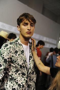 Backstage at Hermès SS16 Men - Crash Magazine