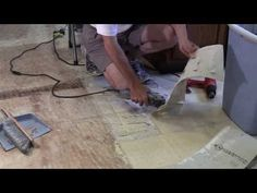 How To Remove Glued Down Linoleum Or Vinyl From A Wood