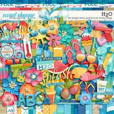 H2O digital scrapbooking kit by Studio Flergs & Blagovesta Gosheva. Available at Sweet Shoppe Designs http://www.sweetshoppedesigns.com/sweetshoppe/home.php?cat=619&&sort=add_date&sort_direction=0