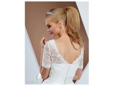 Bridal backward lace jacket suitable to wear over your dress.