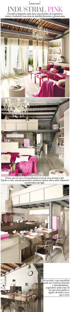 Loft--I have pinned this loft SO many times but I'm obsessed! This is what me & P want our bachelorette pad to look like!