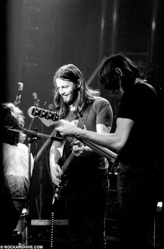 Pink Floyd, David gilmour and Roger Waters