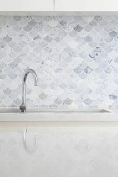 what kind of marble tile lay in the kitchen by Marble Tiles, Tile Patterns, Home Kitchens, Sink, House Design, Inspiration, Rue, Home Decor, Notre Dame